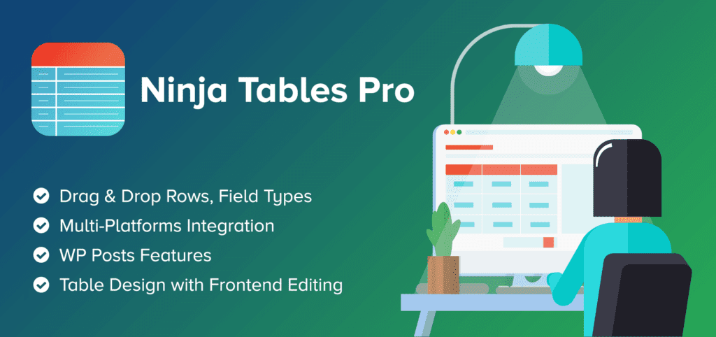 wordpress tabellen pluginninjatablespro