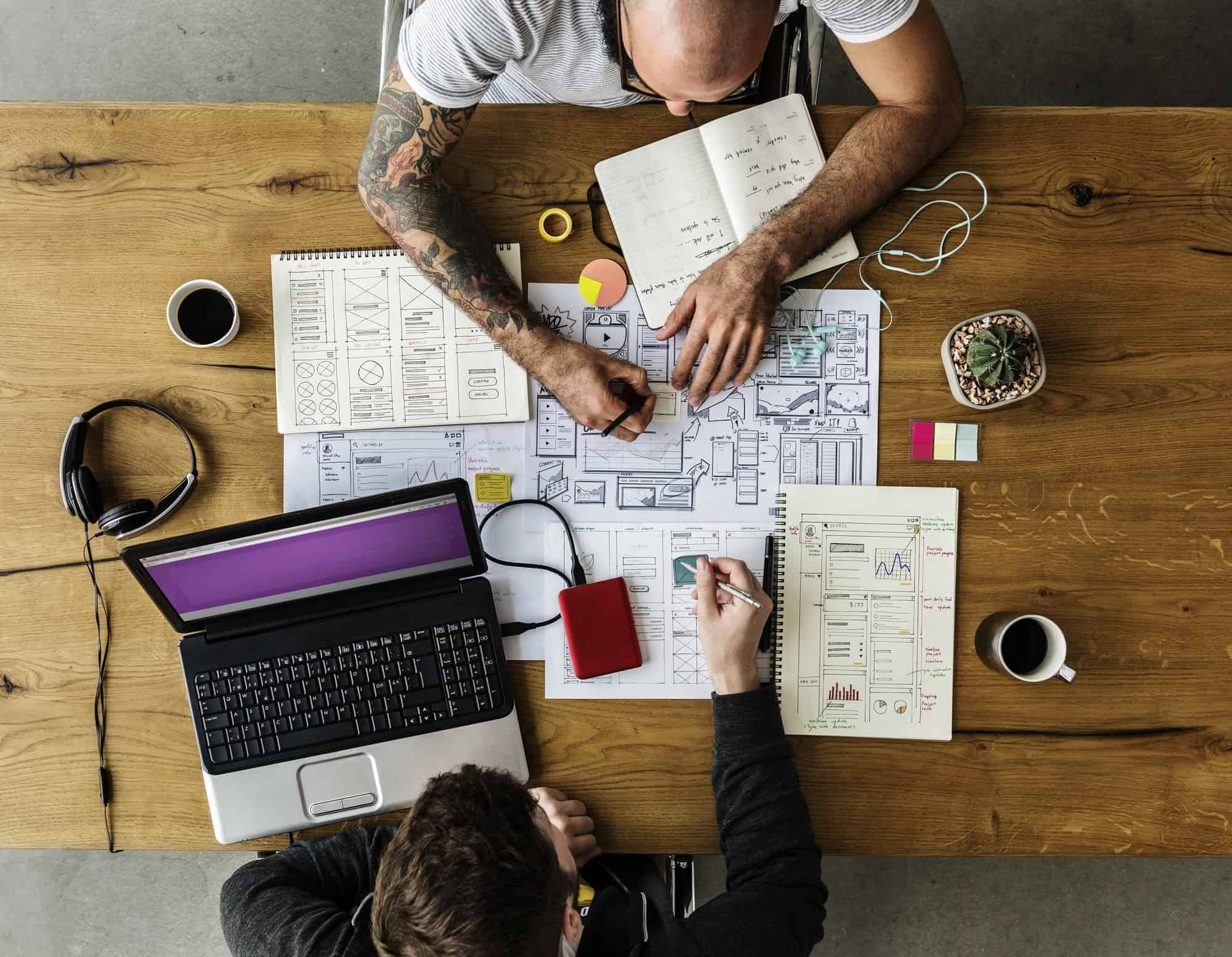 Die heißesten Webdesign-Trends 2021 im Überblick